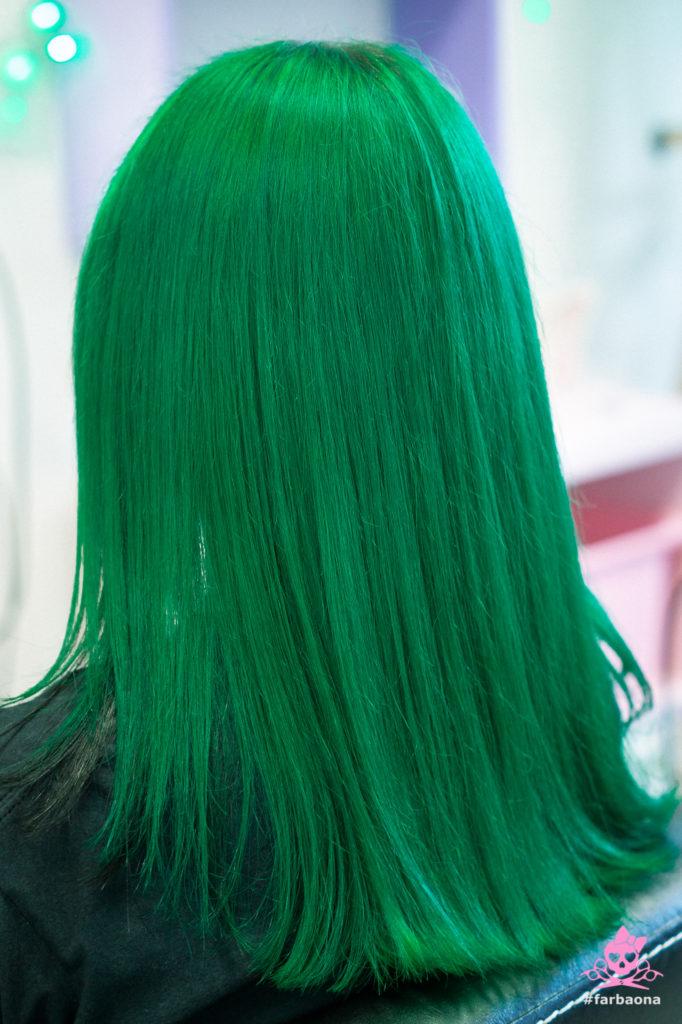 Zelena boja kose