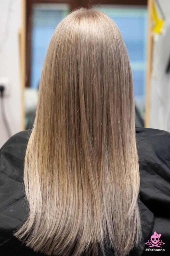 Farbaona - blond kosa
