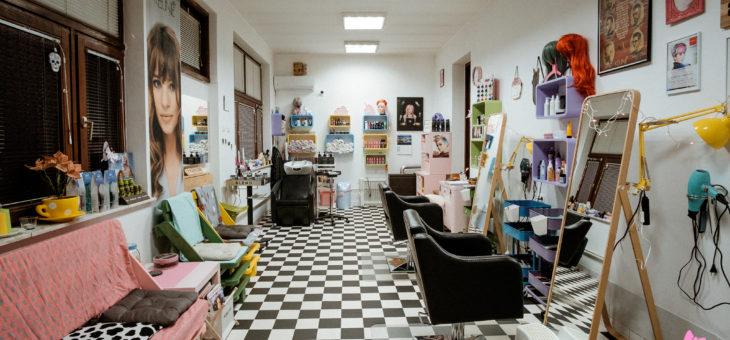 Frizerski salon, zimski makeover
