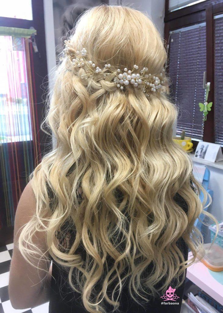Farbaona - vjenčana frizura