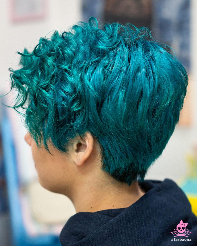 Farbaona - tamno tirkizna boja kose