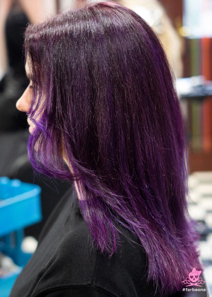 Farbaona - tamno ljubičasta boja kose