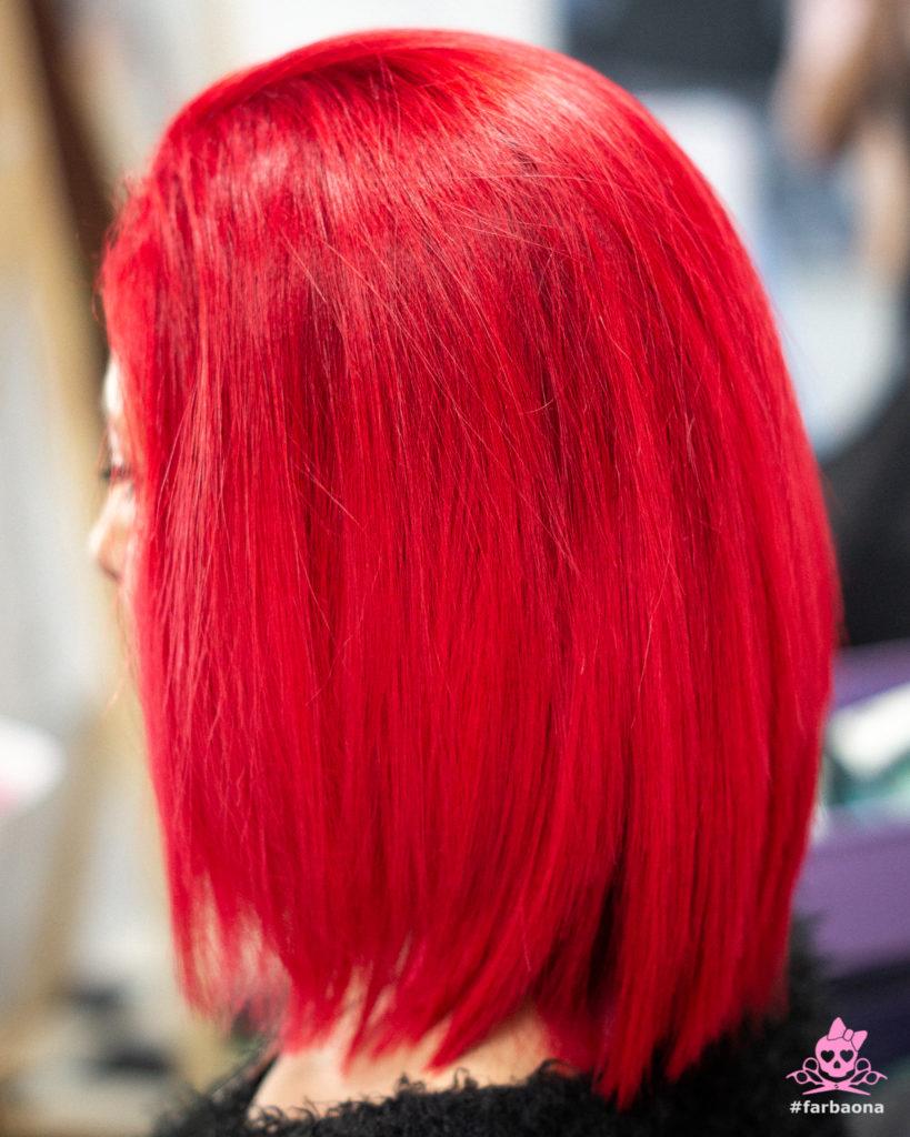Farbaona - vatreno crvena boja kose