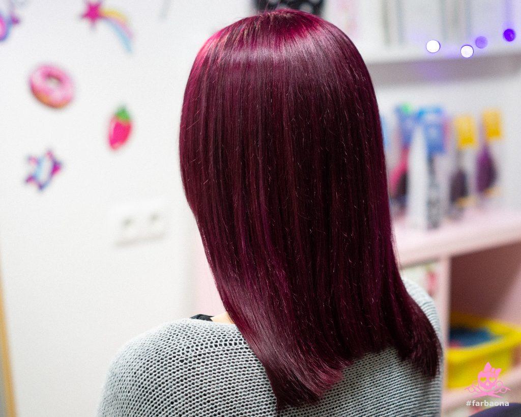 Farbaona - ljubičasta boja kose